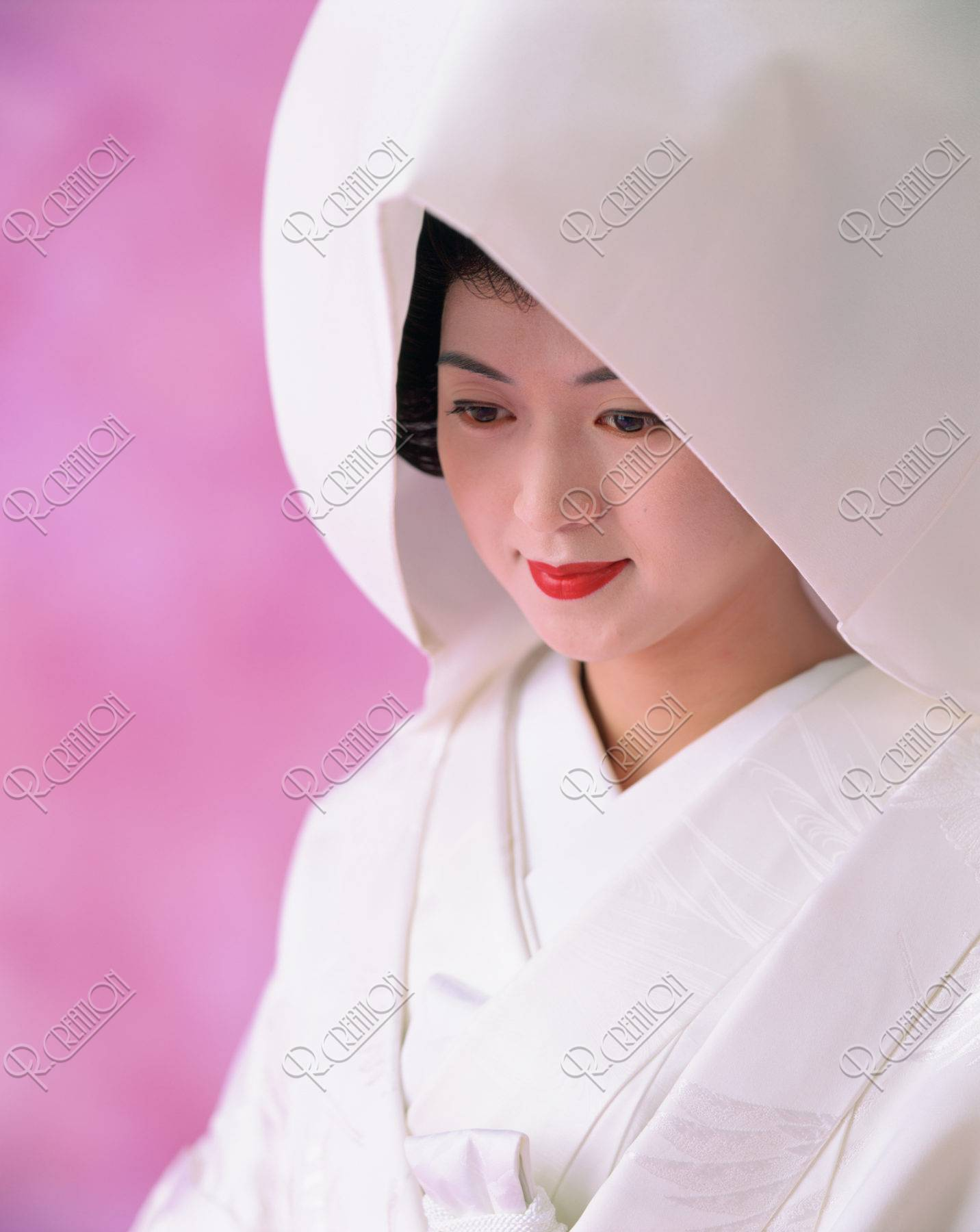 綿帽子の花嫁