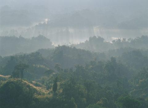 イタ岩からの朝 イタナガール