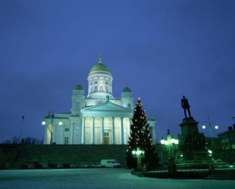 大聖堂夜景