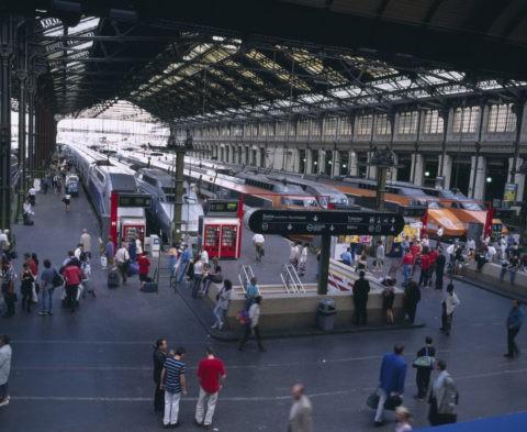 リヨン駅 TGV