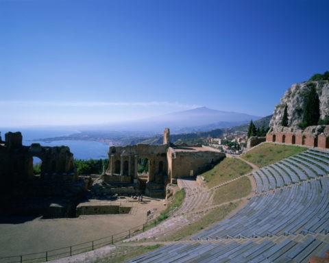 タオルミナ ギリシャ劇場