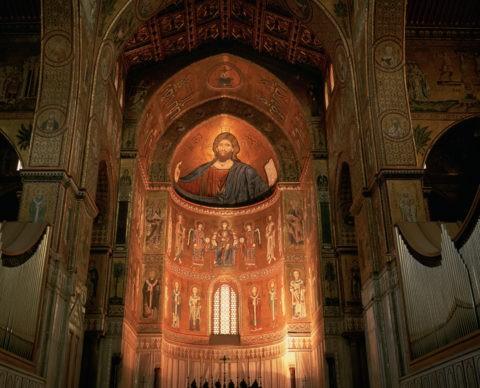 モンレアーレ 黄金のモザイクの大聖堂