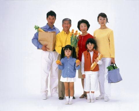 買い物の3世代