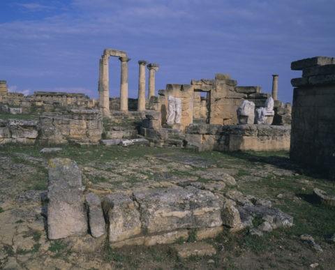 デメテル神殿 W.H