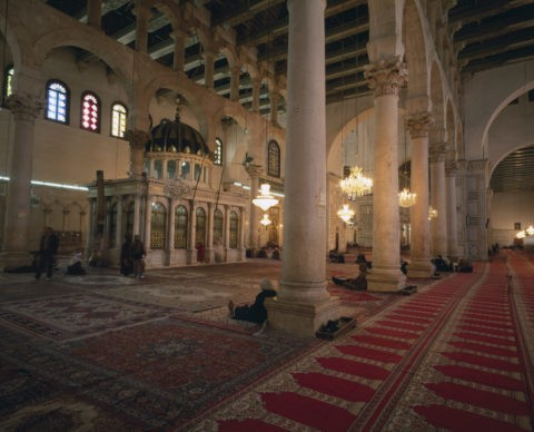 ウマイヤッドモスク 内部
