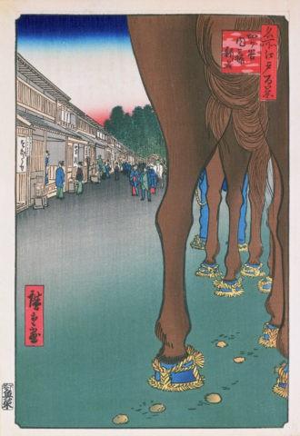 江戸百景 四谷内藤新宿