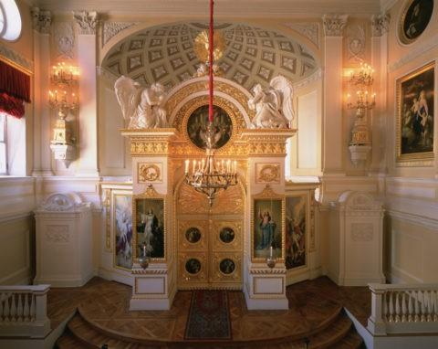 パブロフスク宮殿 内部 W.H.