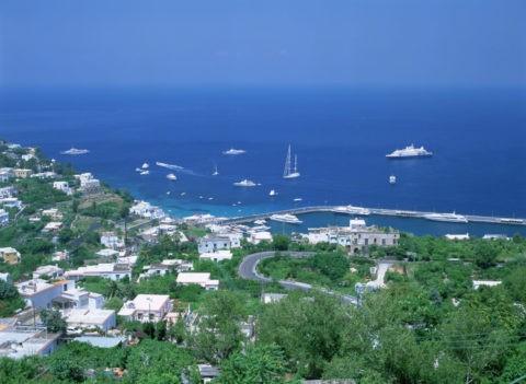 マリーナグランデ カプリ島