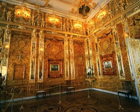 エカテリーナ宮殿 琥珀の間世界遺産