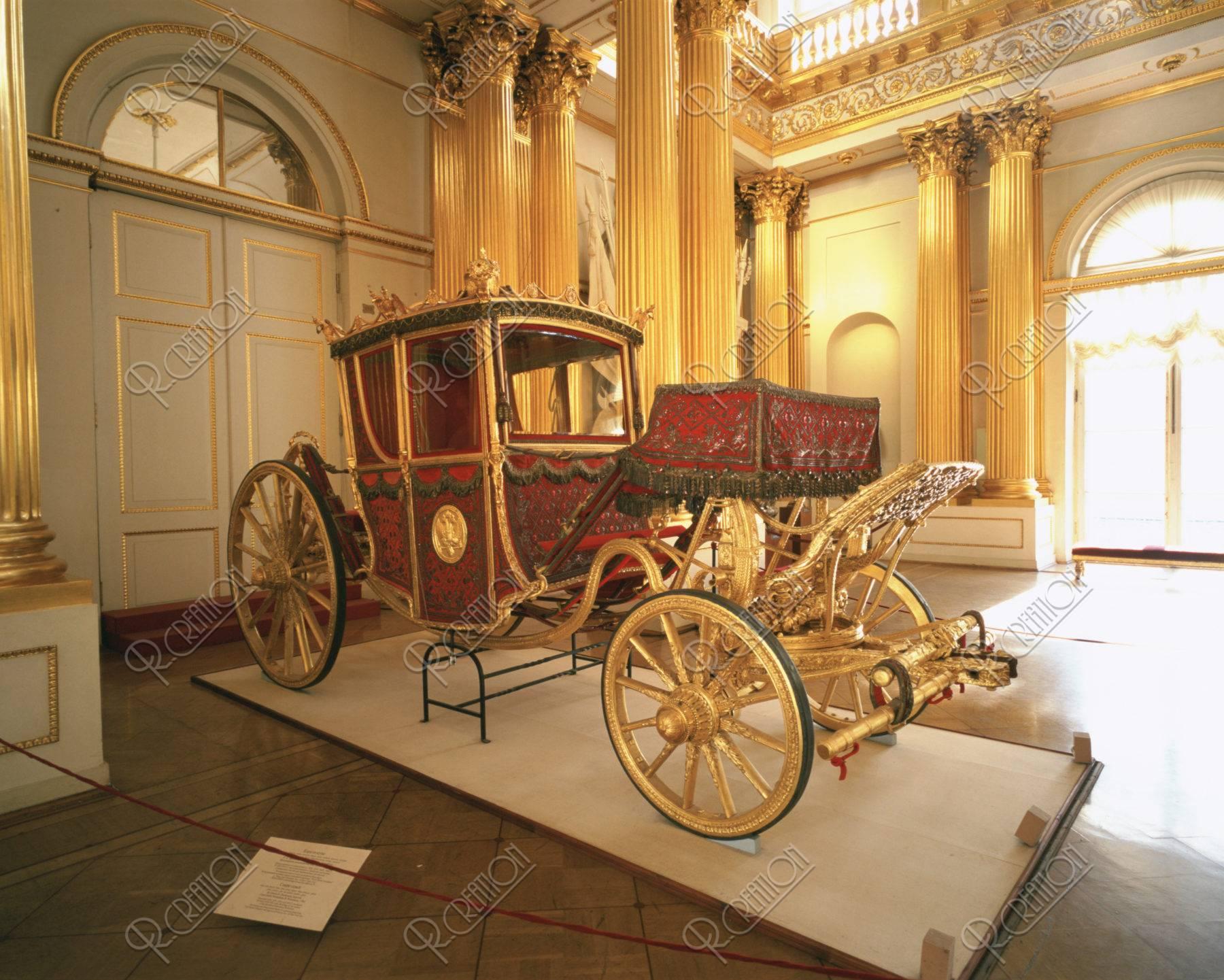 エルミタージュ美術館 馬車W