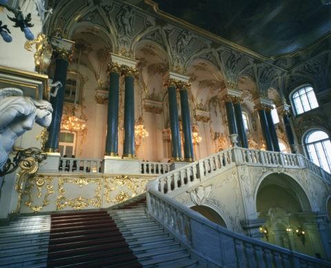 エルミタージュ美術館 大使の階段W