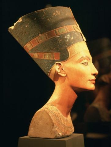 王女ネフェルティティ エジプト博物館