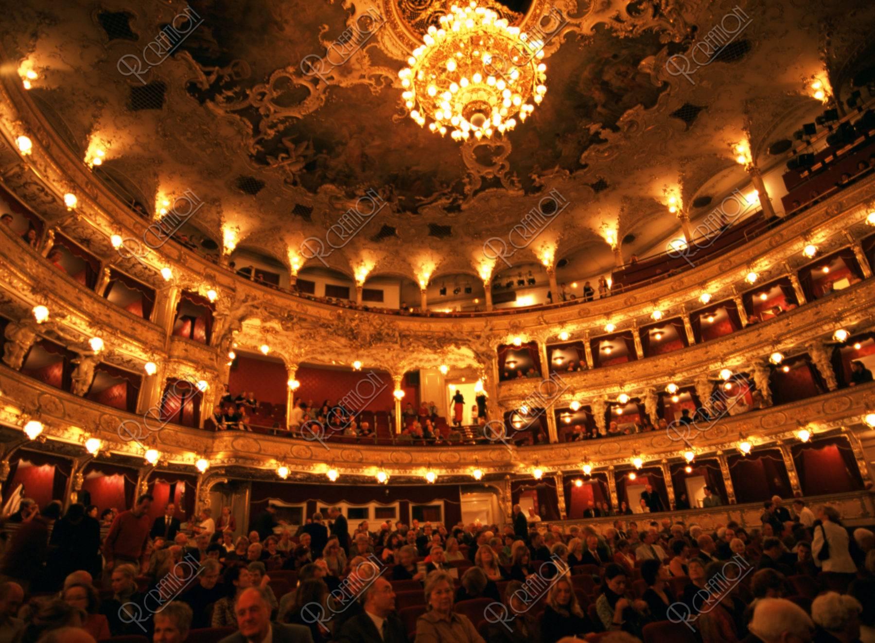 国立オペラ劇場 内部