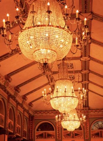 和平飯店シャンデリア