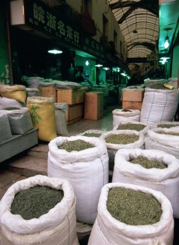 上海茶葉批発市場