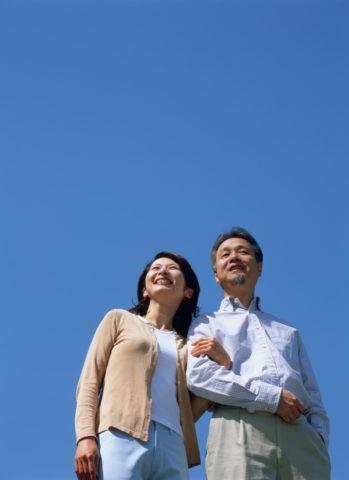 青空と熟年夫婦