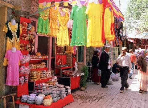 ウイグル民芸品店 カシュガル