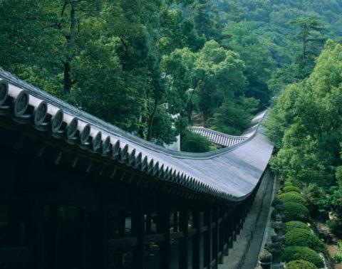 吉備津神社 廻廊