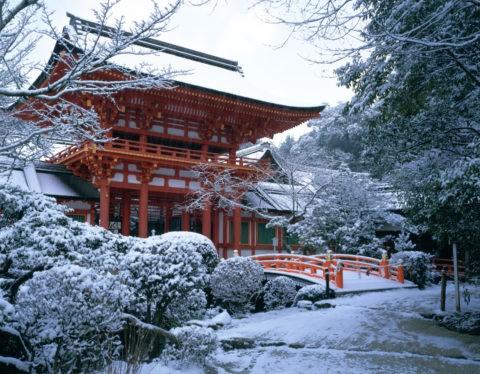 上賀茂神社雪景W.H