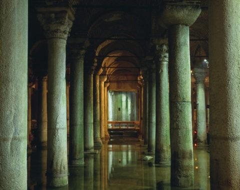 地下宮殿 列柱