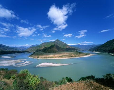 長江第一湾 世界遺産