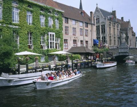 運河観光船