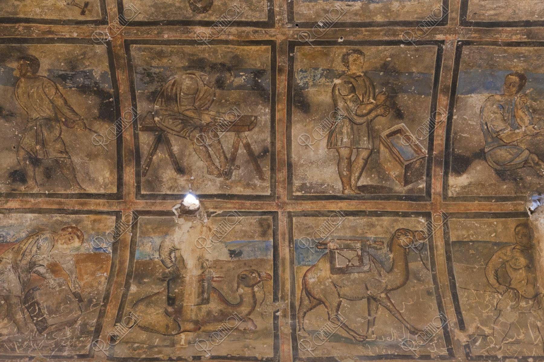 アムラ城 フレスコ画 世界遺産