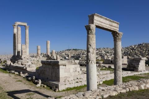 アンマン城 ヘラクレス神殿