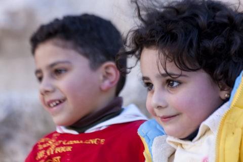 ヨルダンの子供