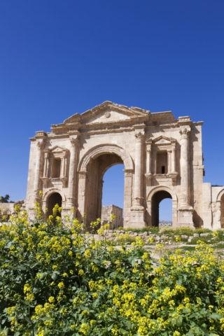 ジェラシュ遺跡 凱旋門