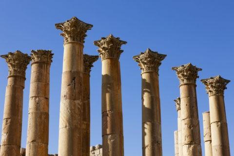 ジェラシュ遺跡 アルテミス神殿
