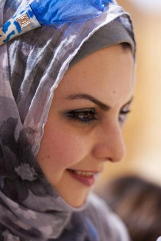 シリアの女性