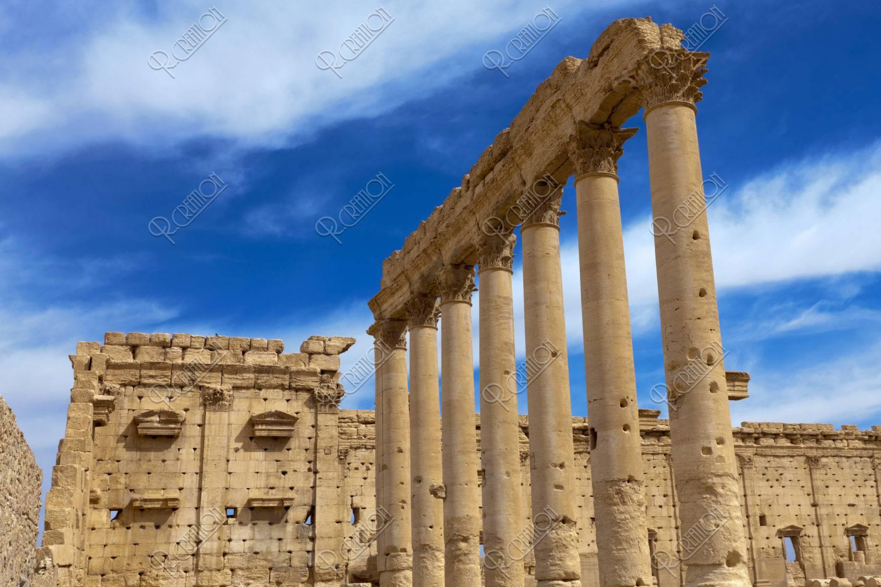 パルミラ遺跡 世界遺産 ベル神殿
