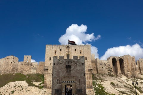 アレッポ城 世界遺産