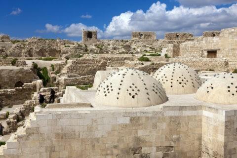 アレッポ城 ハンマーム 世界遺産