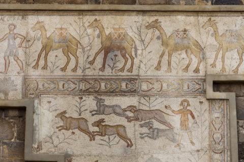 ボスラ遺跡 モザイク 世界遺産