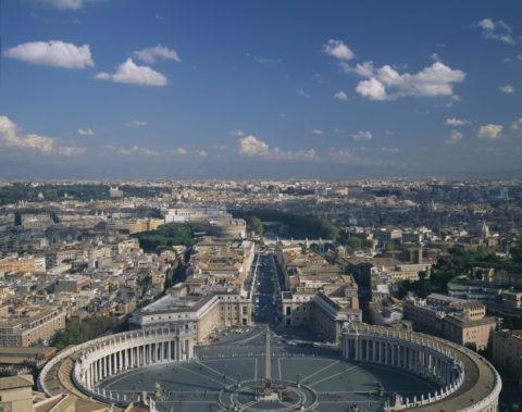 サンピエトロ寺院からの展望