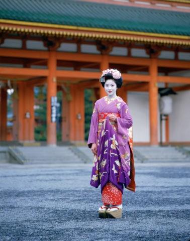 舞妓平安神宮京都
