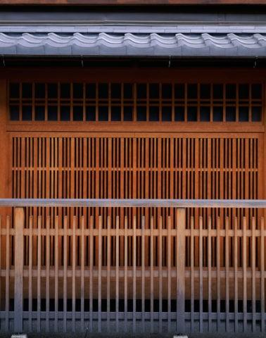 祇園の格子