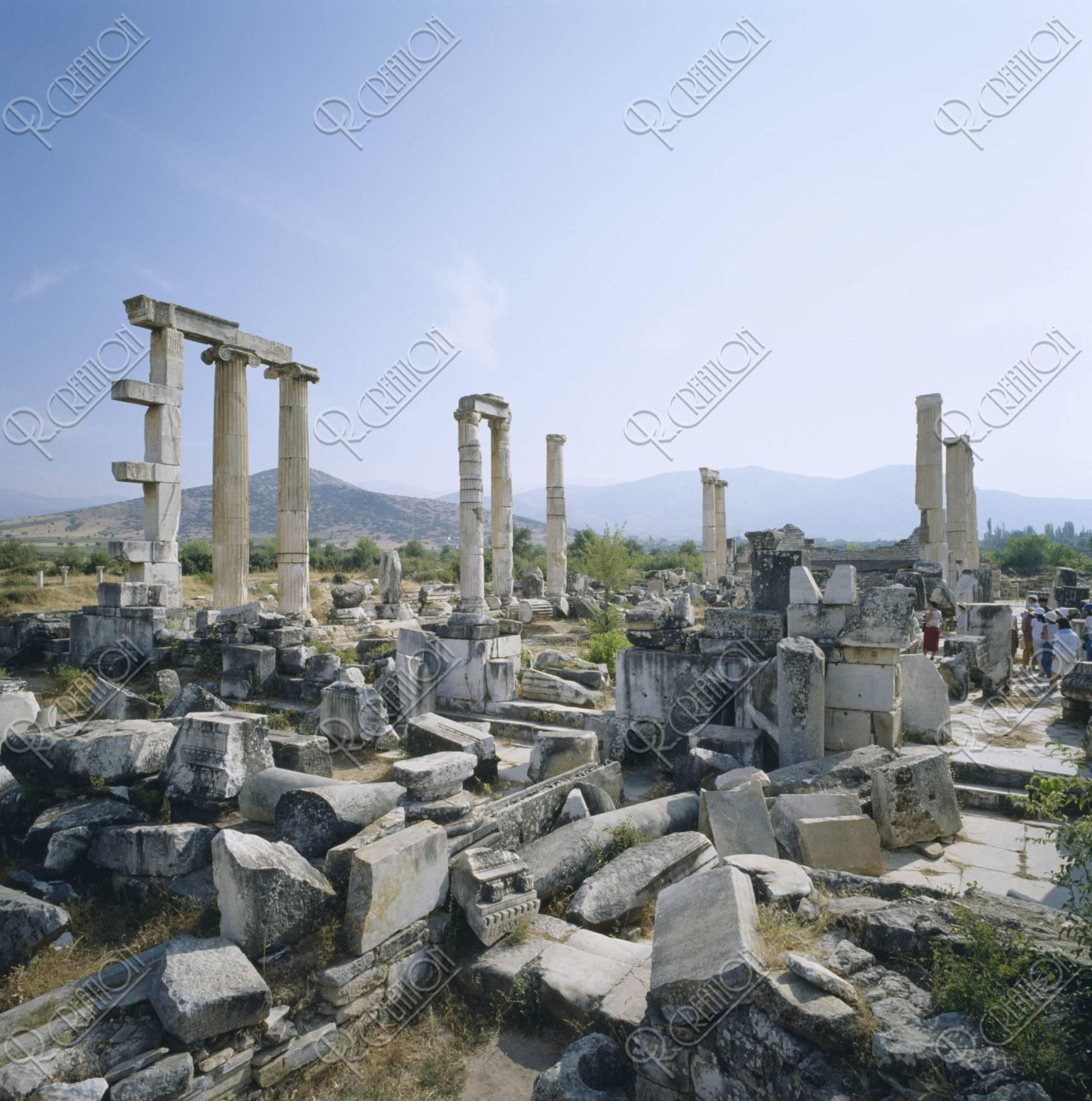アフロディアス遺跡 ターキー