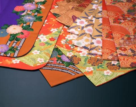 和風イメージ 着物と帯