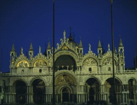 サンマルコ寺院 夜景