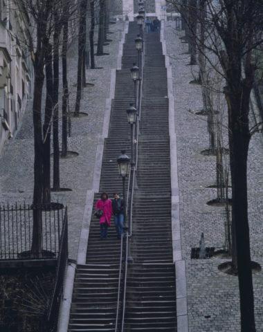 サクレクール寺院付近 パリ フランス
