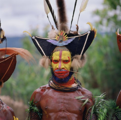 HAWA族 タリ パプアニューギニア