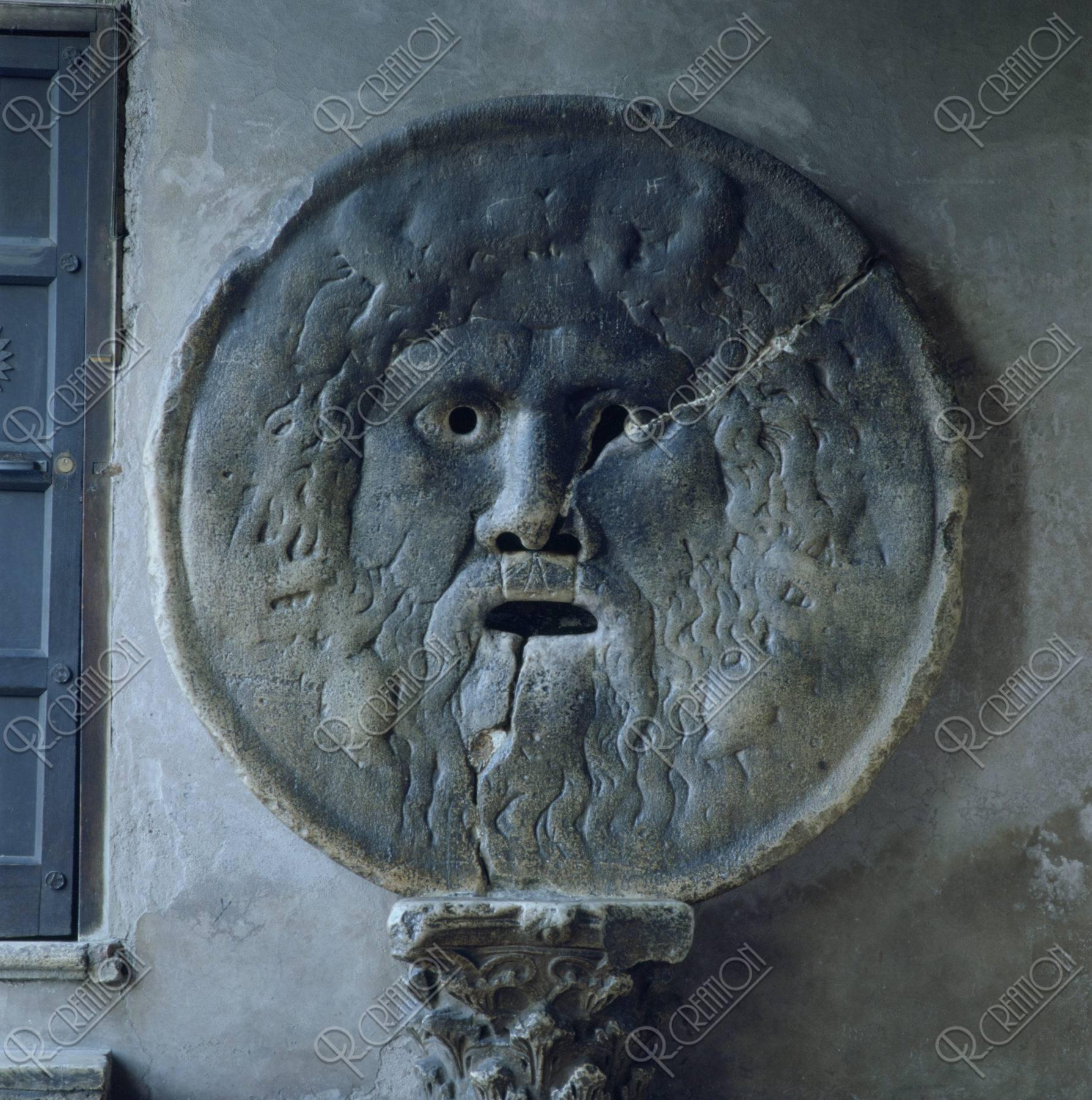 真実の口 イタリア ローマ