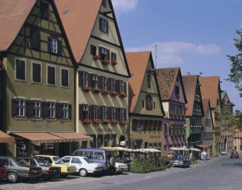 ディンケルス ビューレの街並 西ドイツ