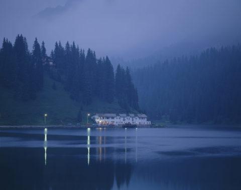 ミズリナ湖 イタリア