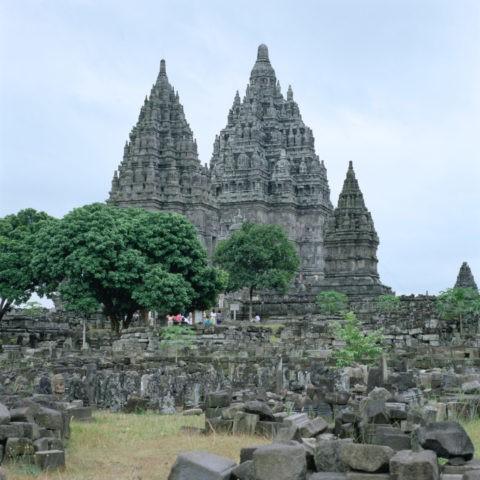 ブランバナン寺院 ジャワ島