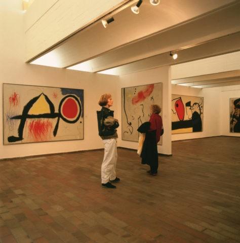 ミロ美術館内 バルセロナ スペイン