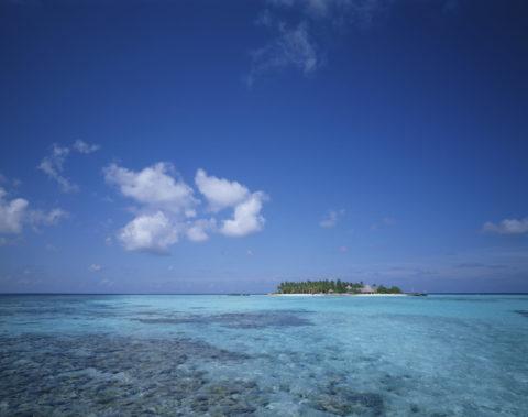 海と空と島 マルジブ